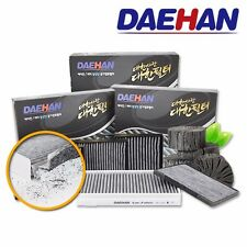 Activated Carbon Cabin  Filter_4 Set_HYUNDAI SANTAFE CM LUX (2008.01~2009.05)