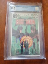 Batman Special #1 CGC 8.0 - White Pages 1984