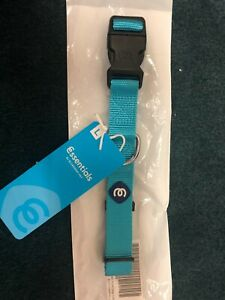 Essentials By Blueberry Pet Medium Turquoise Classic Dog Collar NWT