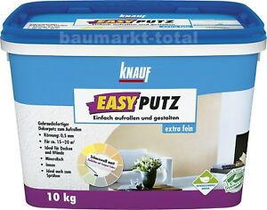 Knauf Easyputz extra fein 0,5mm 10kg Dekorputz Edelputz Oberputz Decorputz Putz