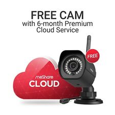 meShare 6 Month Premium Cloud - Get Free 1080p HD Outdoor Wireless Security Cam