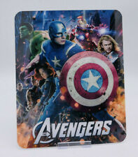 THE AVENGERS - Glossy Bluray Steelbook Magnet Magnetic Cover (NOT LENTICULAR)