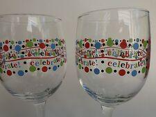 2 Birra Bicchieri di Vino ~ Celebrazione! See Riporre per 100s Bicchieri,Idee