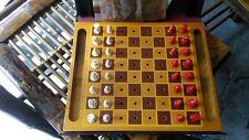 Vintage Drueke No. 9003 Chess set Grand Rapids, Mich.