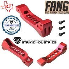 Strike Industries FANG Billet Aluminum Trigger Guard Skeletonized RED 223/308