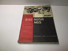 Manuale ricambi Fiat  642 N65R, N65   edizione 1961  [3625.17]