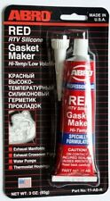 ABRO RTV SILICONE INSTANT GASKET MAKER RED HIGH TEMP SEALANT 85G 11AB