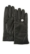 Karl Lagerfeld Bijoux Black Gloves in sheepskin leather Medium NEW W TAG