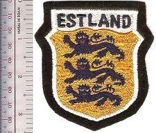 Germany & Estonia Estland Volunteers Foreign Legions Wehrmacht Shield bl flt