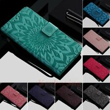 For OnePlus 6 5T 5 LG G7 K30 Wallet Card Holder Flip Stand Leather Case Cover