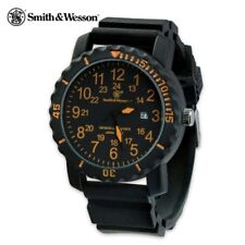Smith & Wesson Watch Military Style Tactical Commando Analog Waterproof Dive
