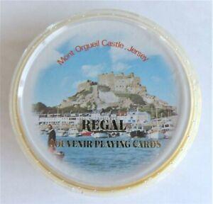 Regal Souvenir Playing Cards Mont Orgueil Castle Jersey Used Complete
