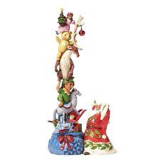 Jim Shore Heartwood Creek Christmas Wish Big Santa's Stacked Magic Toybag