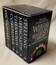 The New International WEBSTER'S POCKET REFERENCE LIBRARY 5 Book Box Set Revised