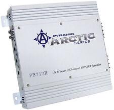 New Pyramid PB717X 1000 Watt 2 Channel Bridgeable MOSFET Amplifier Car Audio Amp