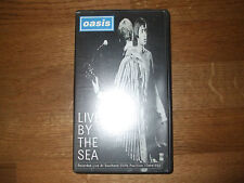 VHS - OASIS LIVE BY THE SEA ON VIDEO, RECORDED LIVE AT SOUTHEND CLIFFS PAVILLION