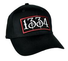 1334 Black Plague Hat Baseball Cap Alternative Death Goth Punk Deathrock Metal