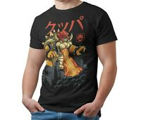 King Koopa Bowser T-Shirt Kaiju Japanese Monster Unisex Tee Shirt Adult & Kids