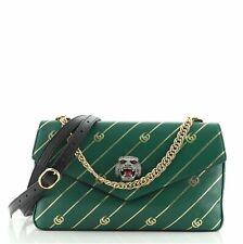 Gucci Thiara Doble Bolsa De Hombro Medio de cuero Impresa