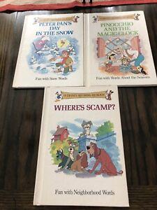 3 Disney  Rhyming Readers