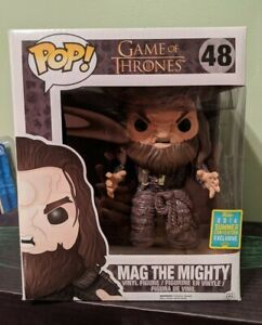 """Funko Pop 6"""" SDCC 2016 Exclusive Mag The Mighty Game of Thrones GOT HBO"""