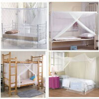 Summer 4 Corner Post Bed Canopy Mosquito Net Full Queen King Large Bed Netting D