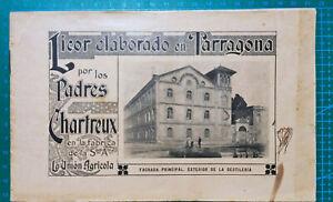 Folleto llegada Padres Chartreux a Tarragona