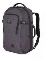 "SWISSGEAR Getaway RFID 22"" Backpack Heather Gray 6067."