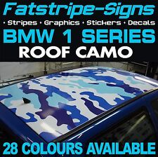 BMW 1 SERIES ROOF CAMO GRAPHICS STICKERS STRIPES DECALS CAMOUFLAGE M SPORT SE D