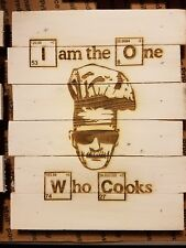 Breaking bad cooking custom wood sign poster