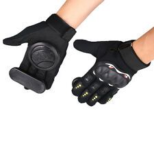 Pair Skateboard Freeride Slide Protective Gloves Longboard with Foam Palm Adult