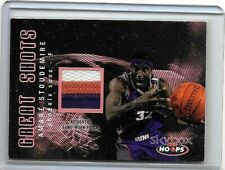 AMARE STOUDEMIRE 2004-05 NBA HOOPS GREAT SHOTSGAME USED 3 COLOR PATCH#05/25