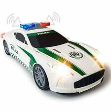 Light Up Police Car with LED Headlights Taillights and Sirens