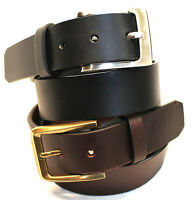 New Quality Genuine Full Grain Leather Men's Jeans Belt Australian Seller 41012