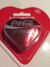 Brand New Sealed Lip Smacker Lip Gloss 6.7g 0.23oz - Coca Cola Flavour In Tin