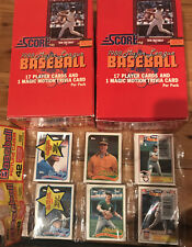 2 - 1988 Score Boxes