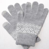 High Quality Women Winter Gloves Touch Screen Stretchable Knitted Warm Mittens
