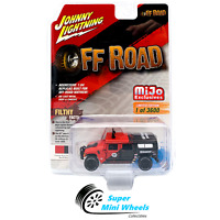 Johnny Lightning Hummer H1 Wagon (Red) Mijo Exclusive 1:64