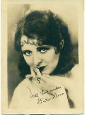 BILLIE DOVE 1930S MOVIE STAR Orig  5x7 Fan Photo Signed
