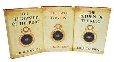 Original Illustrations Lord of the Rings J.R.R. Tolkien Early UK Printings