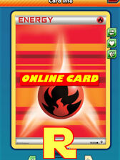 10x Fire Energy (Generations) for Pokemon TCG Online ( ptcgo in Game Card)