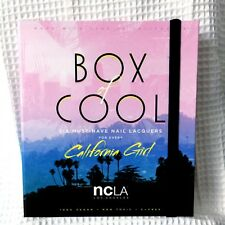 NCLA Box of Cool Nail Lacquers • California Girl Set of 6 • New + Free Shipping