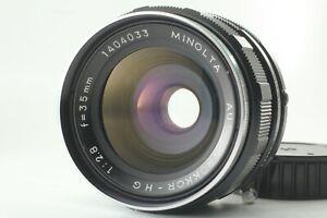 [Exc+++++] Minolta auto w.rokkor-hg 35mm f2.8 From JAPAN