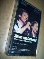 1982 Simon And Garfunkel The Concert In Central Park Double Play Cassette