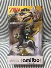 Zelda Wolf link Amiibo Legend of Zelda Nintendo switch from Japan