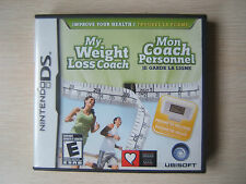 My Weight Loss Coach Nintendo DS No Pedometer Exercise Fit Fitness Healthy