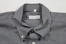 E7304 Eterna Excellent Businesshemd Kurzarm 40 Grau Weiß Meliert Unifarben Neuwe