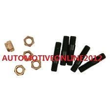 5 X STEEL STUDS COOPER NUTS KIT M8X1.25 TURBO GT25 GT28 S13 T25 T28 S14 SR20