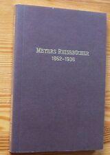 MEYERS REISEBÜCHER 1862-1936 - Wegweiser # Bibliographie von Werner Hauenstein