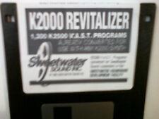 Kurzweil ~ K2000 REVITALIZER ~ 1,300 V.A.S.T. PROGRAMS RACK/KEYBOARD GEAR